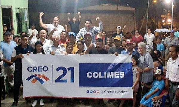 CREO fortalece su estructura territorial en Colimes