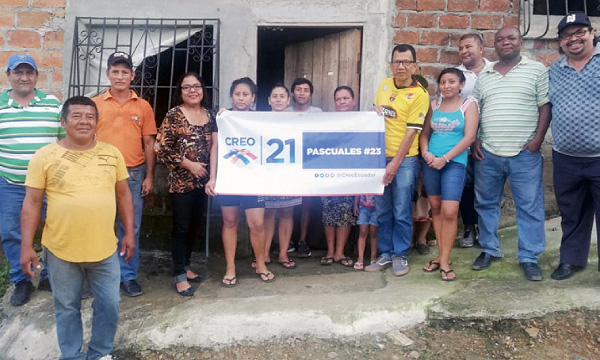 En el bloque 13 de Flor de Bastión CREO Guayaquil fortalece su trabajo territorial