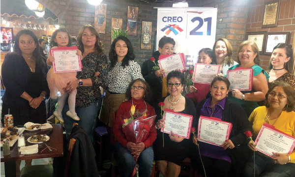 El Frente de mujeres CREO EEUU celebra desde Queens su día Internacional