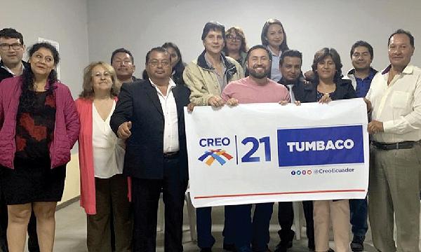 CREO Quito se fortalece y posesiona a su nueva directiva territorial de Tumbaco