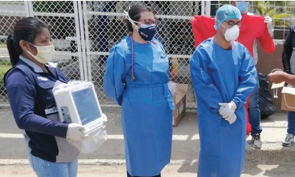 CREO Playas agradece a Guillermo Lasso y #SalvarVidasEC por la entrega de insumos médicos
