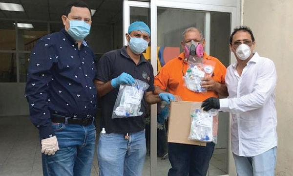 CREO Quevedo agradece a Guillermo Lasso y #SalvarVidasEC por la donación de respiradores