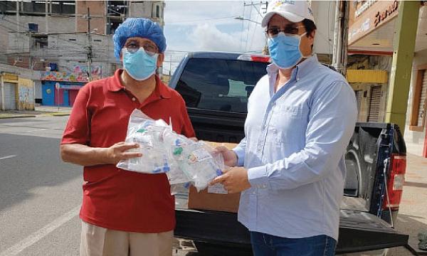 CREO Machala agradece a Guillermo Lasso y #SalvarVidasEc por la donación de respiradores