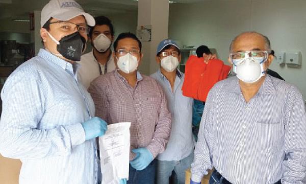 CREO Milagro agradece a Guillermo Lasso y #SalvarVidasEC por la entrega de insumos médicos