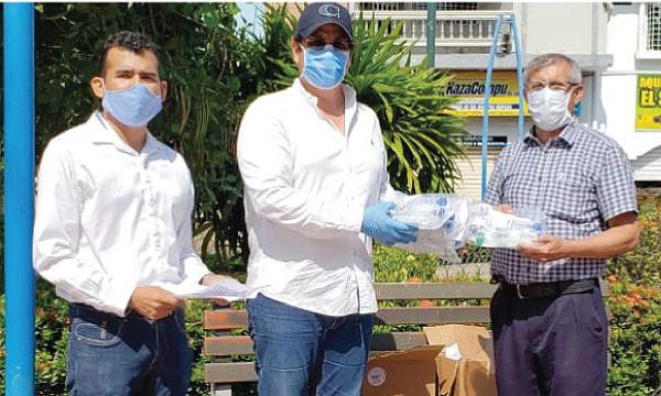CREO Pasaje agradece a Guillermo Lasso y #SalvarVidasEC por la donación de respiradores