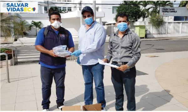 CREO Piñas agradece a Guillermo Lasso y #SalvarVidasEC por la donación de respiradores