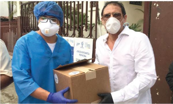 CREO Urdaneta agradece a Guillermo Lasso y SalvarVidasEC por la donación de respiradores