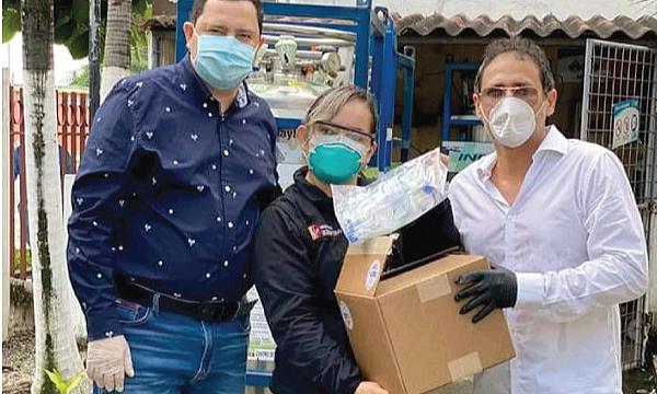 CREO Ventanas agradece a Guillermo Lasso y #SalvarVidasEc por la donación de respiradores