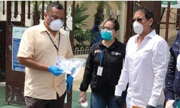 En Vinces CREO agradece a Guillermo Lasso y #SalvarVidasEC por la entrega de respiradores