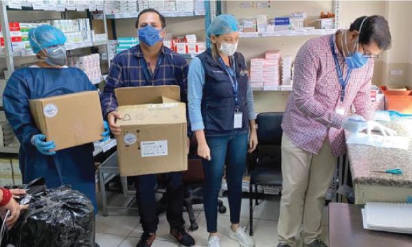 En Daule CREO agradece a Guillermo Lasso y #SalvarVidasEC por la entrega de insumos médicos
