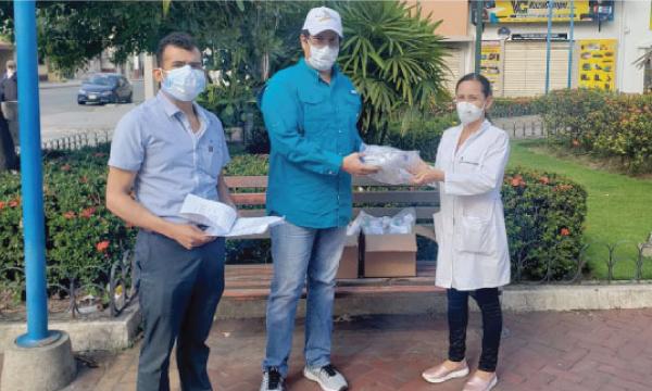 CREO El Guabo agradece a Guillermo Lasso y #SalvarVidasEC por la donación de respiradores
