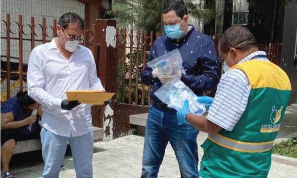 En Baba CREO agradece a Guillermo Lasso y SalvarVidasEC por la entrega de respiradores