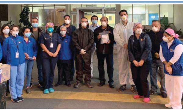 CREO Cuenca agradece a Guillermo Lasso y #SalvarVidasEC por la donación de respiradores