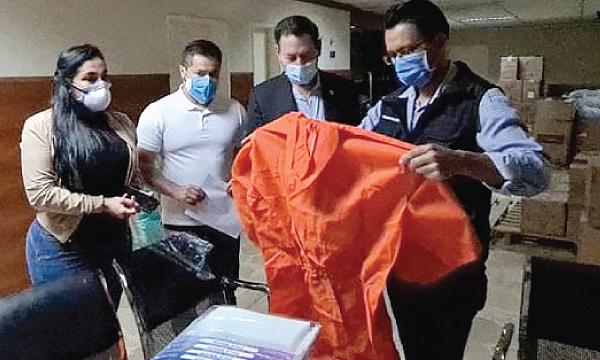 CREO Quito agradece a Guillermo Lasso y #SalvarVidasEc por la donación de ventiladores e insumos médicos