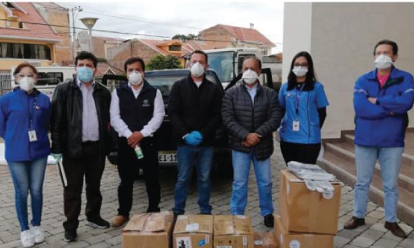 En Cuenca CREO agradece a Guillermo Lasso y #SalvarVidasEc por la donación de insumos médicos