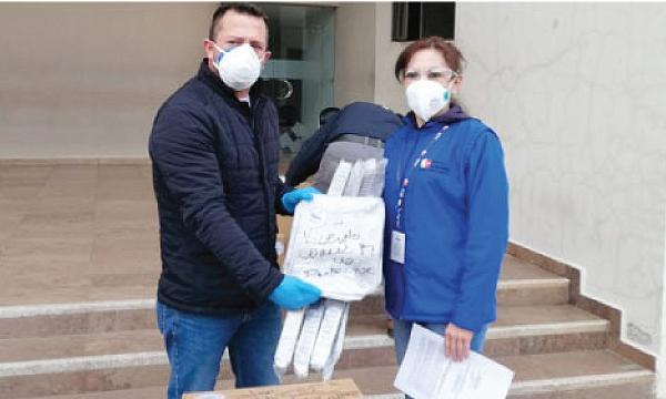 CREO Cuenca agradece a Guillermo Lasso y #SalvarVidasEc por la donación de monitores cardiacos e insumos médicos