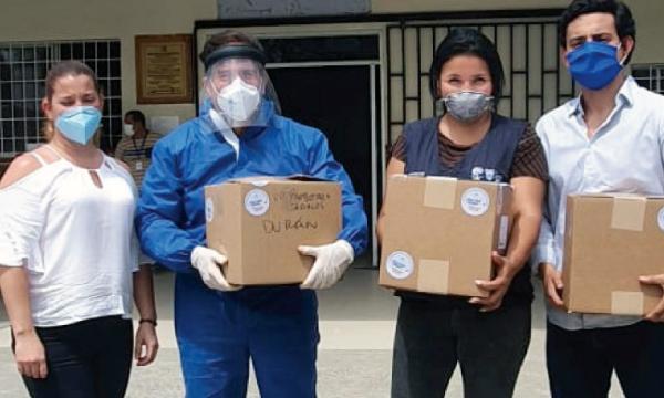 CREO Durán agradece a Guillermo Lasso y #SalvarVidasEc por la donación de ventiladores e insumos médicos