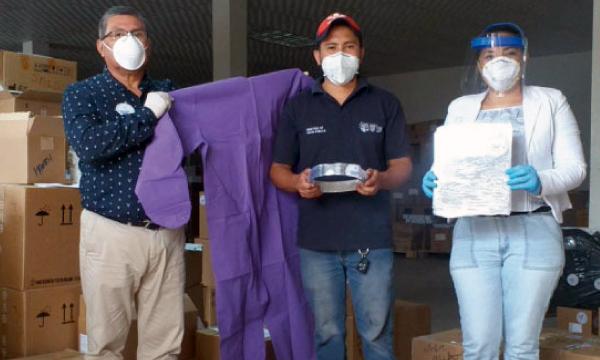 Desde el cantón El Carmen CREO agradece a Guillermo Lasso y #SalvarVidasEc por la donación de insumos médicos