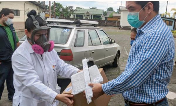 En El Triunfo CREO agradece a Guillermo Lasso y #SalvarVidasEc por la donación de insumos médicos