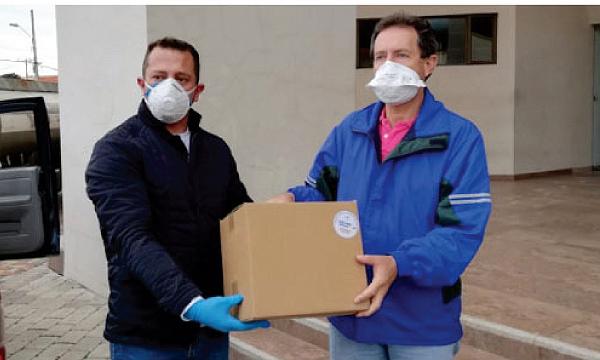 En Gualaceo CREO agradece a Guillermo Lasso y #SalvarVidasEc por la donación de insumos médicos