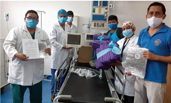 CREO Joya de Los Sachas agradece a Guillermo Lasso y #SalvarVidasEc por la donación de insumos médicos