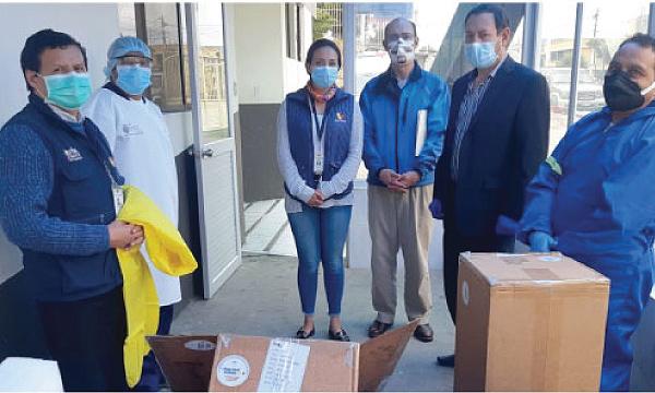 En Latacunga CREO agradece a Guillermo Lasso y #SalvarVidasEc por la donación de respiradores e insumos médicos