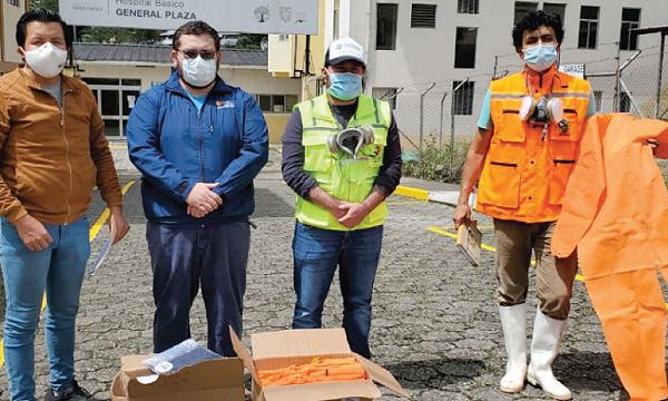 En Limón Indaza CREO agradece a Guillermo Lasso y #SalvarVidasEC por la donación de insumos médicos