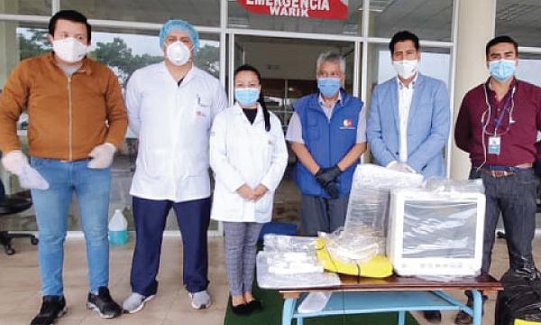 CREO Macas agradece a Guillermo Lasso y #SalvarVidasEC por la donación de insumos médicos