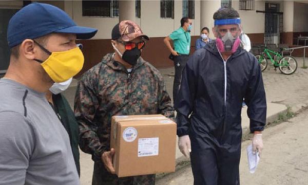En Naranjal CREO agradece a Guillermo Lasso y #SalvarVidasEC por la donación de respiradores e insumos médicos