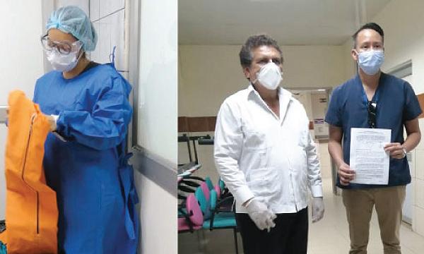 En Naranjal CREO agradece a Guillermo Lasso y #SalvarVidasEC por la donación de insumos médicos