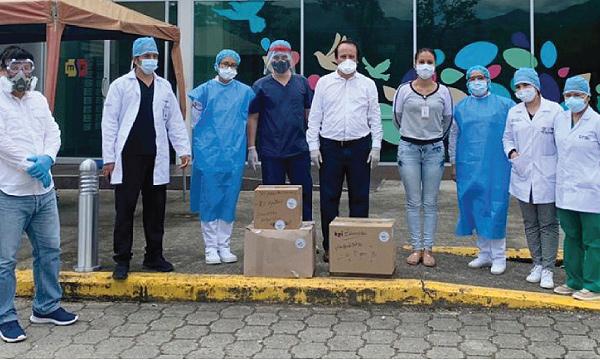 Desde el cantón Paquisha, CREO agradece a Guillermo Lasso y #SalvarVidasEc por la donación de insumos médicos