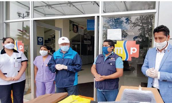 En Sucúa CREO agradece a Guillermo Lasso y #SalvarVidasEC por la donación de insumos médicos
