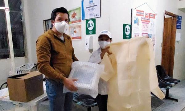 CREO Tiwintza agradece a Guillermo Lasso y #SalvarVidasEC por la donación de insumos médicos