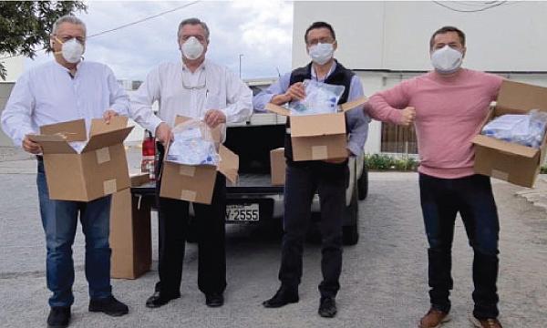 CREO Quito agradece a Guillermo Lasso y #SalvarVidasEC por la donación de 50 respiradores