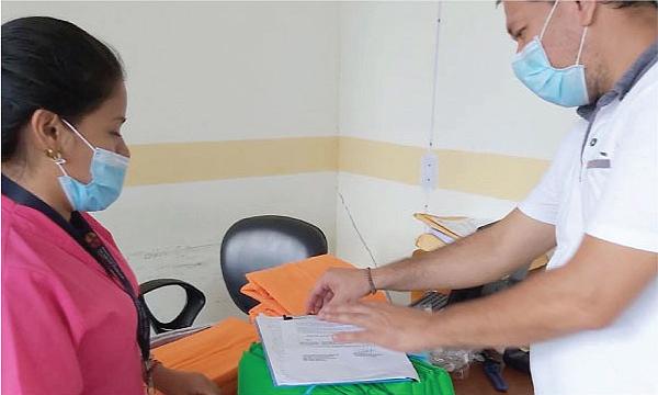 CREO Loreto agradece a Guillermo Lasso y #SalvarVidasEC por la donación de insumos médicos