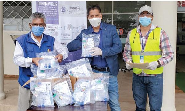 CREO Macas agradece a Guillermo Lasso y #SalvarVidasEC por la donación de respiradores