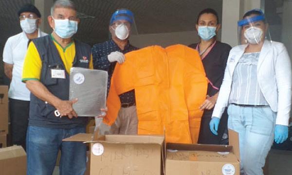 Desde el Cantón Olmedo CREO agradece a Guillermo Lasso y #SalvarVidasEC por la donación de insumos médicos