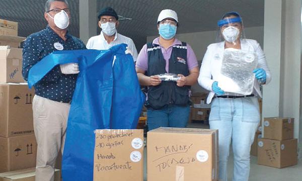 CREO Tosagua y Rocafuerte agradecen a Guillermo Lasso y #SalvarVidasEC por la donación de respiradores e insumos médicos