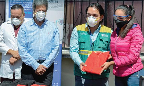 CREO Zapotillo agradece a Guillermo Lasso y #SalvarVidasEC por la donación de insumos médicos