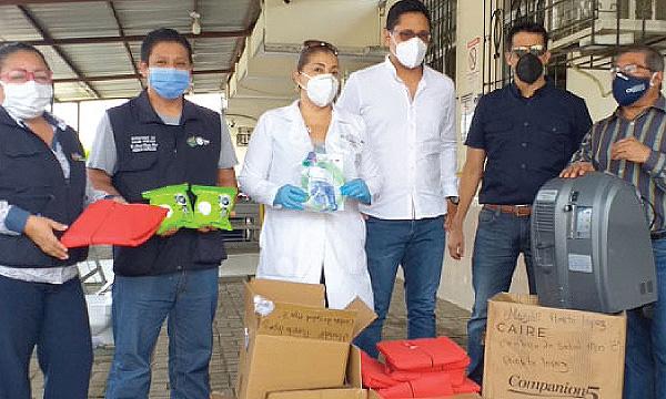 En Puerto López CREO agradece a Guillermo Lasso y #SalvarVidasEC por la donación de nuevos respiradores