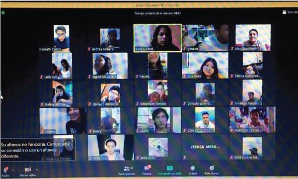Frente de Profesionales CREO Santa Elena arranca taller de Emprendimiento vía Zoom