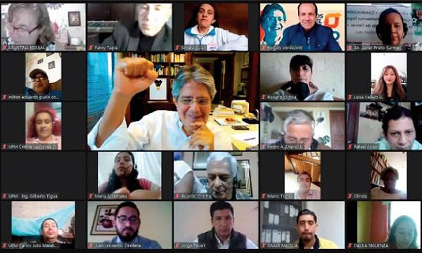 Con la presencia de más de 300 Dirigentes Territoriales posesionamos a 16 directivas y frentes ciudadanos de CREO Cuenca
