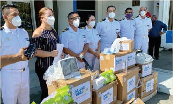 Guillermo Lasso y #SalvarVidasEC llega con equipos e insumos médicos para hospital de la Fuerzas Armadas en Esmeraldas