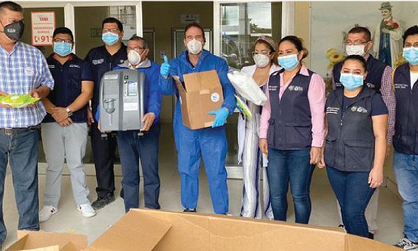 Desde el cantón Paján CREO agradece a Guillermo Lasso y #SalvarVidasEC por la donación de mascarillas