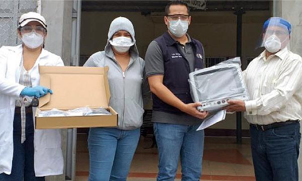 Rocafuerte CREO agradece a Guillermo Lasso y #SalvarVidasEC por la segunda entrega de equipos médicos