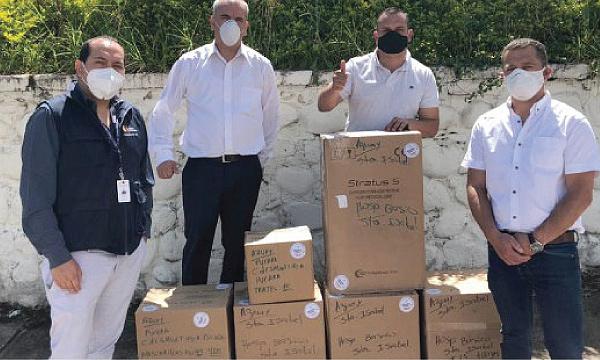 Iniciativa #SalvarVidasEC apoya con nuevos insumos médicos para el hospital de Santa Isabel en Azuay