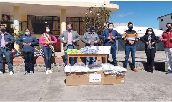 Iniciativa #SalvarVidasEC apoya con nuevos insumos médicos para el Centro de Salud de El Tambo