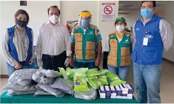 En Yacuambi CREO agradece a Guillermo Lasso y #SalvarVidasEC por la donación de insumos médicos