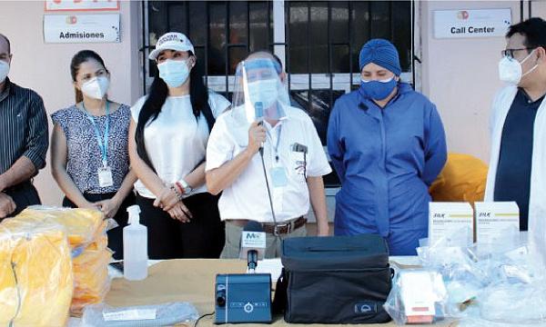 Iniciativa #SalvarVidasEC apoya con nueva donación de equipos al hospital de Arenillas