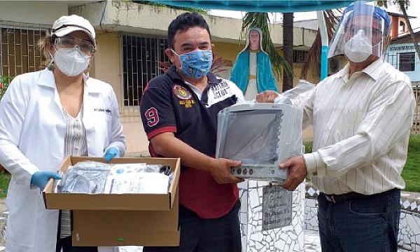Desde el cantón Pichincha CREO agradece a Guillermo Lasso y #SalvarVidasEC segunda entrega de equipos médicos
